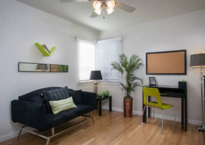 Open layout apartment montebello
